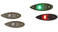 Satz Positionslaternen zum Seiten Einbau LED Bootlicht Positionslicht Edelstahl