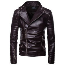 Vintage Classic Solid Color Jacket For Men - Coffee