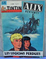 Journal Tintin n°742, 10 janvier 1963, Alix à la une, dessin de Jacques Martin