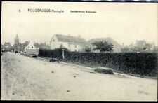 cpa Rousbrugge-Haringhe . Gendarmerie Nationale . Belgique . Flamand