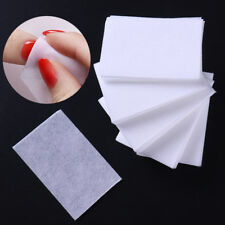 1000Pcs Lint-Free White Nail Polish Remover Cotton Wipe Clean Wipes Pads Paper