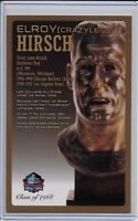 "Elroy ""Crazylegs"" Hirsch Pro Football Hall of Fame Bronze Bust Card 100/150"