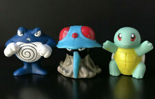 Vintage LOT OF 3 POKEMON SQUIRT TOYS Burger King 1999 SQUIRTLE Poliwrath TENTA
