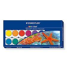 Staedtler Noris Club 888 NC12 - Watercolour Paint Box of 12 Colours