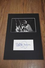 T.REX Mickey Finn (+2003) signed Autogramm in 20x30 cm Passepartout InPerson RAR