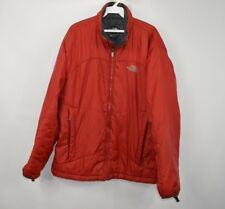 The North Face Mens Large Full Zip Outdoor Hiking Climbing Puffer Jacket Red
