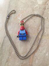 LEGO CLASSIC Mr Krabs Ball Chain Necklace MINIFIGURE Figure SpongeBob