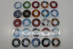 Lot of 25 PSP UMD Movies - Click, Spider-Man 2, Austin Powers