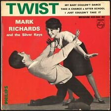 MARK RICHARDS AND THE SILVER KEYS - Twist - French EP 45 tours