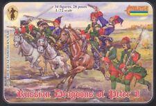 STRELETS 1/72 Russian Dragoni di Pietro I # 010