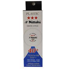 NITTAKU NSD 40+ Table Tennis Ball (ITTF Approved), 3 balls (+ Free DHL Shipping)