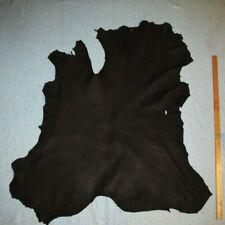Big Black Crafting Calfskin Leather Hide Calf Skin