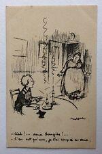CPA. Illustrateur POULBOT. N°66. Ternois. Ciel!... deux bougies!...
