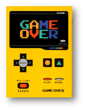 Game Over Playing Cards by Gemini Poker Spielkarten Cardistry
