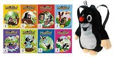 8 DVDs * DER KLEINE MAULWURF + PLÜSCH RUCKSACK (CA 30 CM) IM SET # NEU OVP +