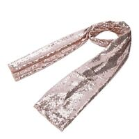 Table Runner Wedding Party Decorations Bling Cloth Rose Gold H6X8