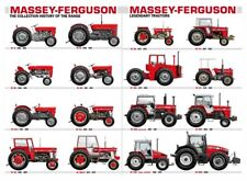 A3 Massey Ferguson Tractor Collection Agriculture Poster Picture Brochure Print