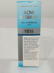 1×Zhangguang Acne getaway101E(章光101E ) this package is Export version!