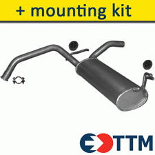 TOYOTA AYGO HATCHBACK 1.0 69HP 2005- Exhaust Rear Silencer+