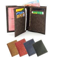 Portefeuille Porte monnaie cartes  Homme Femme Simili cuir Couleurs aux choix