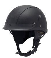 Leather Motorcycle Goggles Vintage Half Helmets Motorcycle Biker Cruiser Scooter