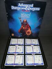 ADVANCED Dungeons & Dragons 2 nd Edition Wizard Spell Cards TSR NR:9356 RAR