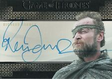 Game of Thrones Inflexions, Richard Dormer 'Ser Beric Dondarrion' Autograph Card