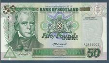 Scotland, Bank of Scotland 50 Pounds, 2004, P 122, UNC