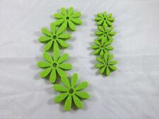8 Blumen Filz Grün Streudeko Tischdeko Streuelemente Basteln  Kartengestaltung