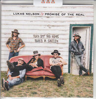 LUKAS NELSON & PROMISE OF THE REAL Turn Off The News UK 11-tk #d promo CD sealed