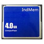 IndMem Industrial 4GB CompactFlash CF Memory Card SLC Flash Innodisk Control ATA