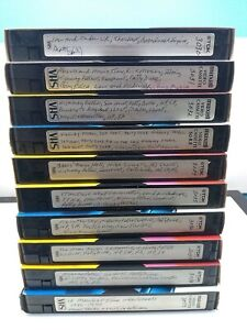 Sold as blank VHS 📼 Lot of 10 tapes #3030-3039