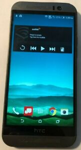 [BROKEN] HTC One M9 16GB  Gray (Verizon) Fast Ship Good Used Camera Glass ONLY