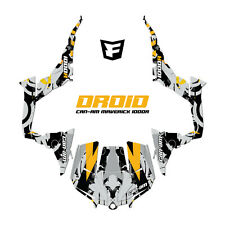 Can-Am Maverick 1000R XDS Turbo Graphic Decal Kit UTV 2015 Decals CamAm DROID