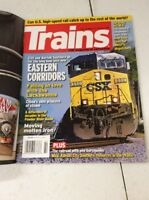 Trains Magazine Vintage Railway history February 2008 CSX 550