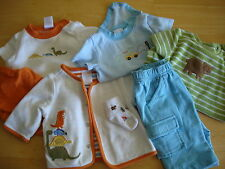 BOYS 0 to 3 Months  Lot Of (7) Gymboree Shirts Pants Socks Like New