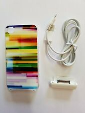 Rainbow Apple iPhone 4 Interactive Lighted Color LED Case Cover 4S Light Cases