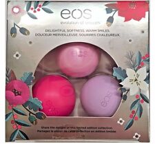 EOS Holiday 2016 Limited Edition Lip Balm Honey Apple Passion Fruit & Wildberry