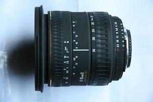 NIKON FIT SIGMA EX 17-35mm D F2.8-4 LENS + CAPS + CASE + BOX 17 - 35 mm 2.8-4
