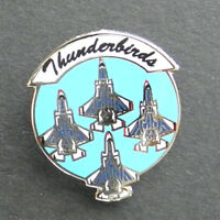 US AIR FORCE THUNDERBIRDS FORMATION LAPEL PIN 1 INCH USAF