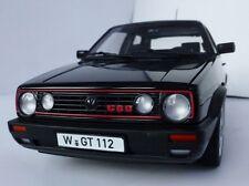 VW Golf II GTI G60 1990 1/18 NOREV 188444 Volkswagen MKII MARK 2 GTI Black