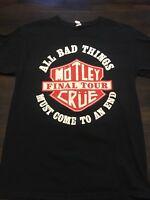 Motley Crue Tour Shirt Medium