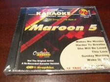CHARTBUSTER 6+6 KARAOKE DISC 40394 MAROON 5 CD+G POP MULTIPLEX SEALED