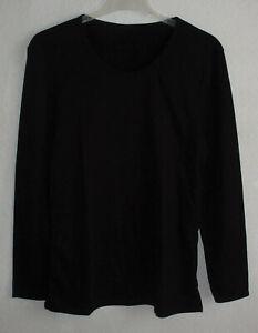 Damen / Herren  Unterhemd / Thermo - Shirt  >schwarz<   Gr. XXL   →N E U←