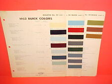 1952 BUICK ROADMASTER RIVIERA SUPER SPECIAL CONVERTIBLE ESTATE WAGON PAINT CHIPS
