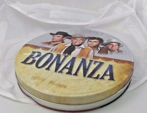 Bonanza film reel tin with 5 Bonanza  DVDs inside  collectible tin and DVDs set