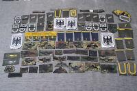 116 Aufnäher Patches Bundeswehr Uniform Restposten Abzeichen Schulterklappen Neu