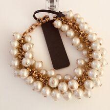 J.Crew Pearl Cluster Bracelet (NEW)