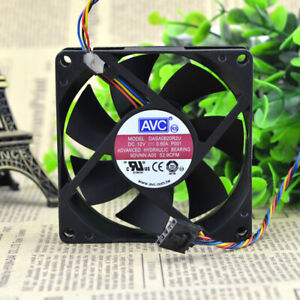 Optiplex DASA0820R2U 0725Y DC12V 0.60A 8020 8CM 4-wire double ball chassis fan