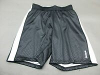 Reebok Size S Womens Black Athletic Sportswear Track Shorts 211